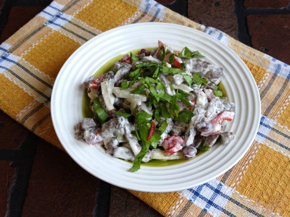 как приготовить легкое говяжье салат