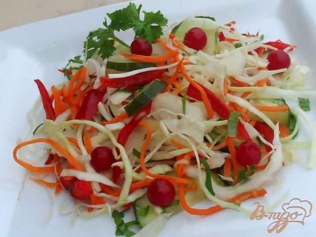 Салат из капусты по-корейски с перцем рецепт
