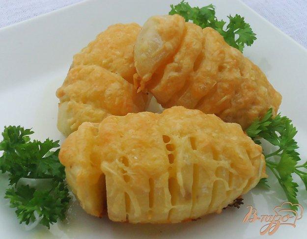 фото рецепта: Запеченный картофель с сыром