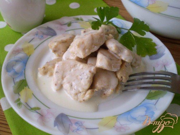 фото рецепта: Куриное филе пропитанное кефиром