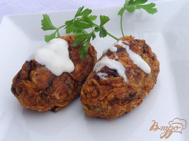 фото рецепта: Овощные котлеты с манкой