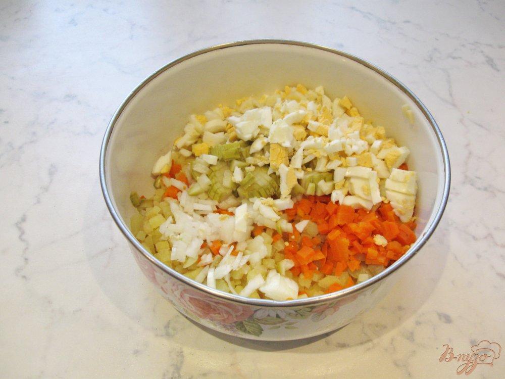 Винегрет с яйцом рецепт классический пошаговый рецепт