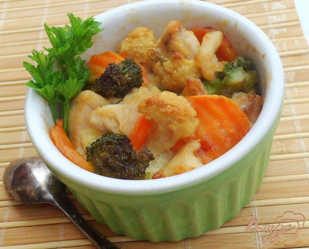 фото рецепта: Запеканка с курицей и овощами