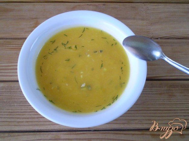 фото рецепта: Тыквенный суп-пюре с укропом