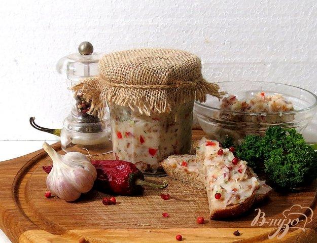 фото рецепта: Намазка из сала