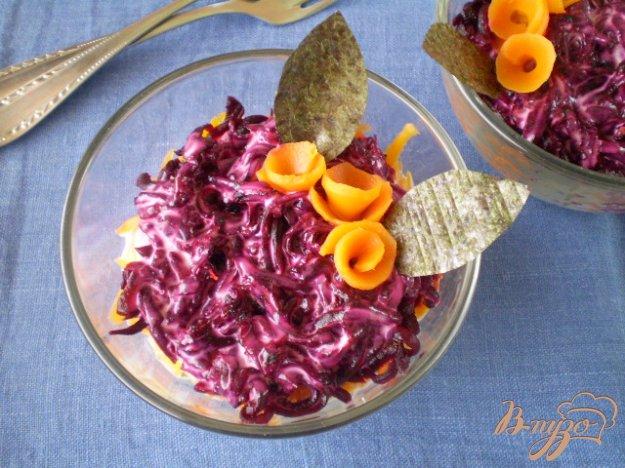 фото рецепта: Шуба с водорослями Нори