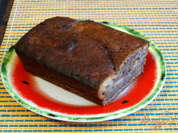 фото рецепта: Тыквенный кекс с какао