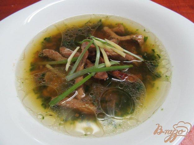 фото рецепта: Китайский суп за 15 минут