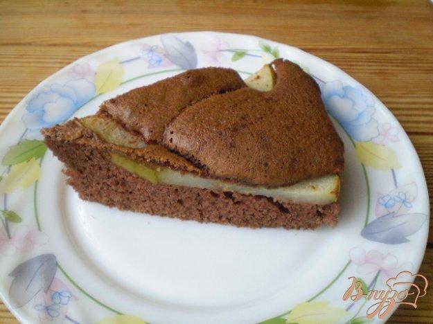 фото рецепта: Пирог с корицей и грушами