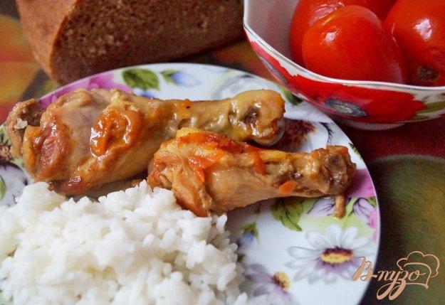 фото рецепта: Курица, тушеная в томате