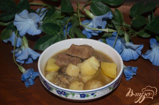 фото рецепта: Рагу  с картошкой из любого вида мяса