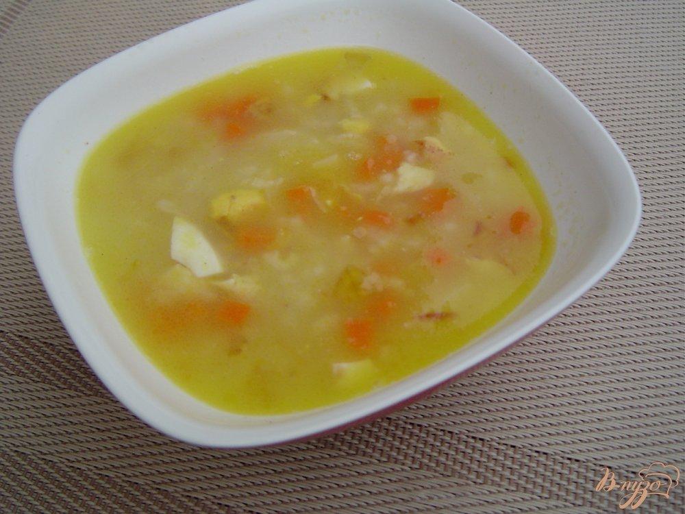 Рисовый суп с яйцом рецепт с фото