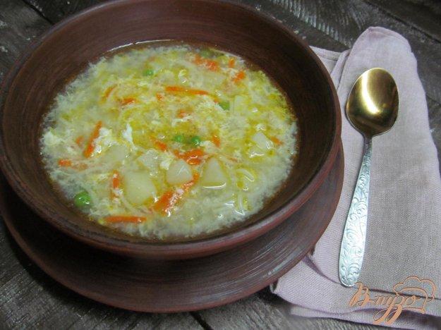 фото рецепта: Суп с жареной вермишелью