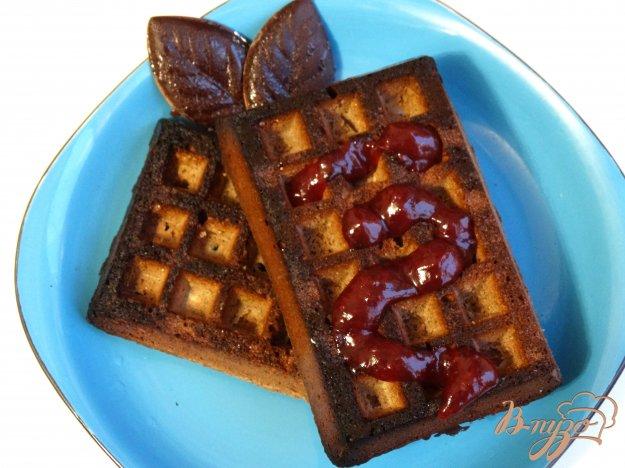 фото рецепта: Шоколадные вафли