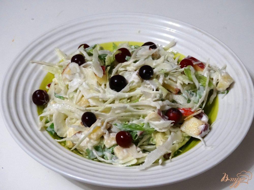 Салат с клюквой рецепт