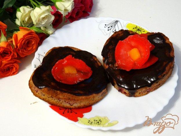 фото рецепта: Клюквенные пирожные