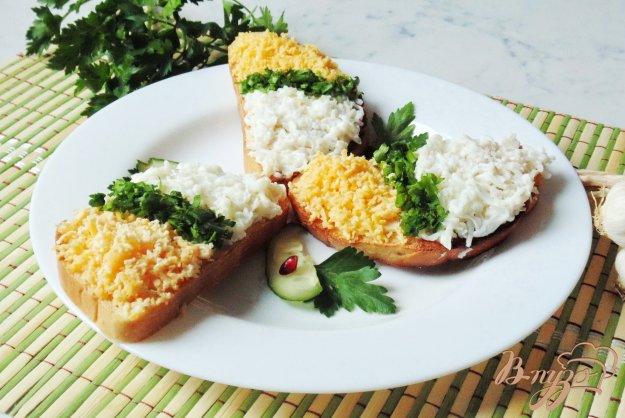 фото рецепта: Закусочные бутерброды с  яйцами.
