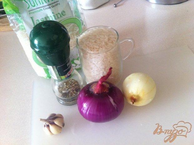 Рецепт Пряный жареный рис на гарнир
