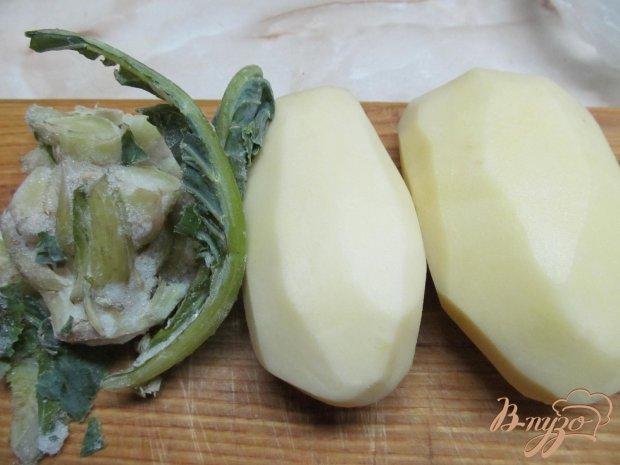 Рецепт Картофельное пюре со стволом брокколи