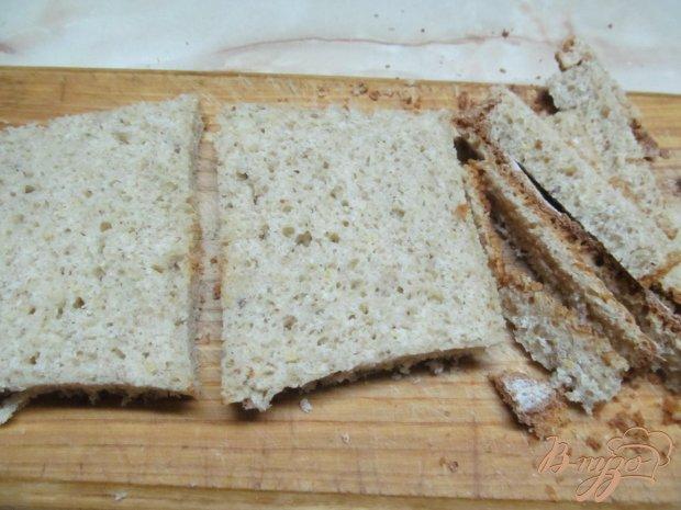 Рецепт Рулеты из хлеба с колбасой и сыром