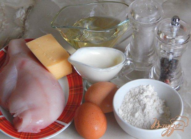 Рецепт Котлеты рубленые из куриной грудки с сыром