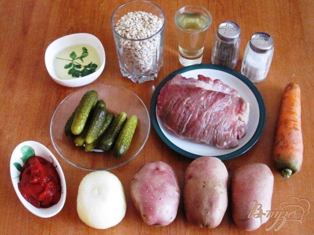 Рецепт Рассольник, приготовленный в мультиварке