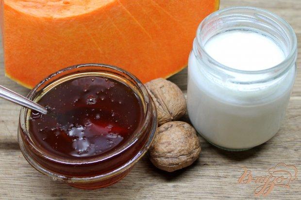Рецепт Йогурт натуральный с тыквой и медом