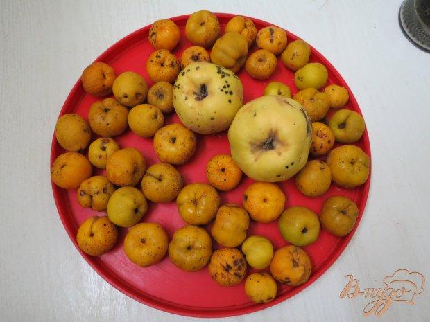 Рецепт Компот из лимонника и айвы
