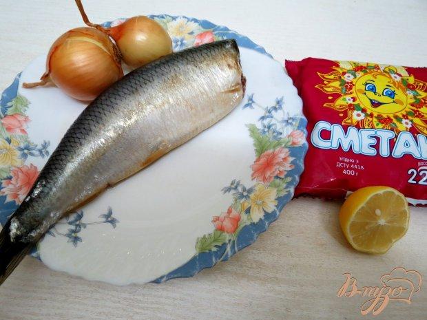 Рецепт Закуска из сельди со сметаной