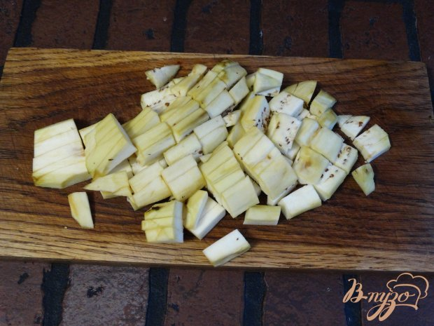 Рецепт Салат с баклажанами и сыром сиртаки