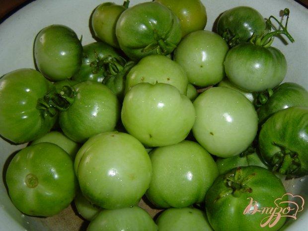 Рецепт Зеленые помидоры на зиму по-грузински