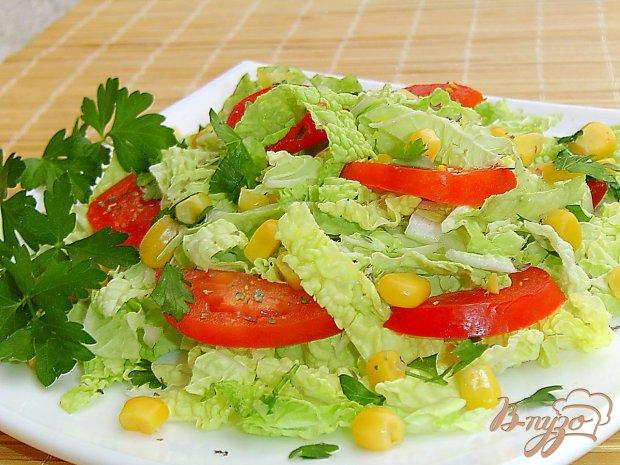 салат из пекинской капусты рецепты с помидорами и