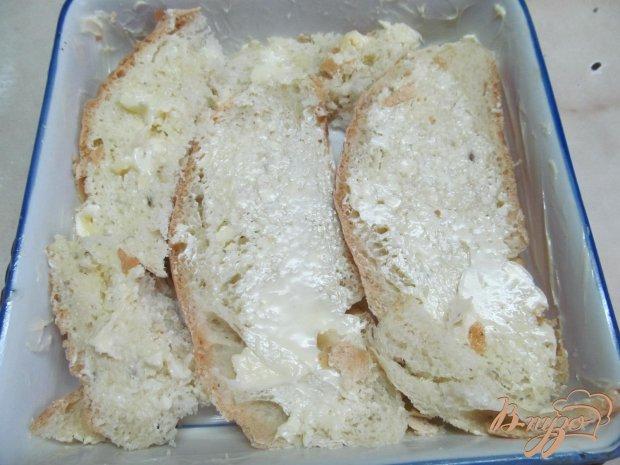 Рецепт Хлебный пудинг с бананом