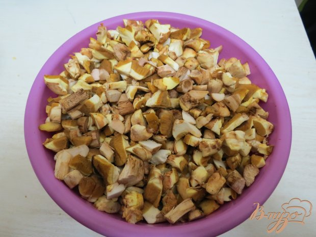 Рецепт Баклажаны с маслятами в сметанном соусе