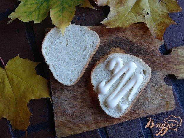 Рецепт Клаб-сендвич с курицей и солеными огурцами