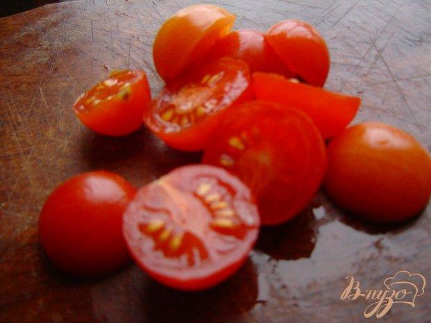Рецепт Салат из помидоров, редиса и лука