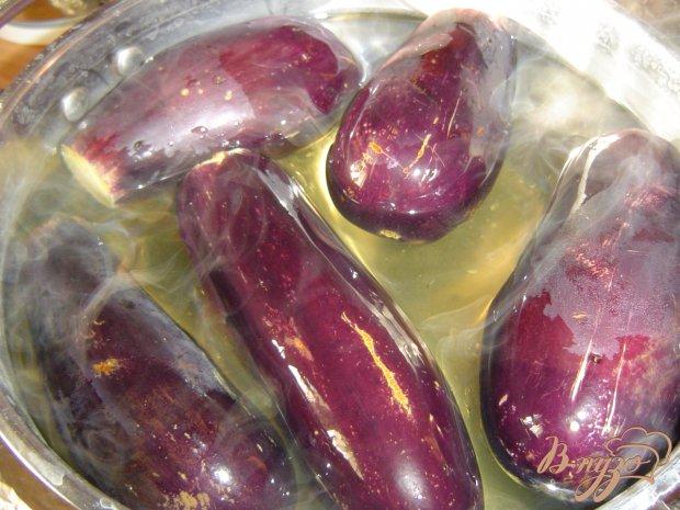 Рецепт Баклажаны квашеные, фаршированные капустой и морковью
