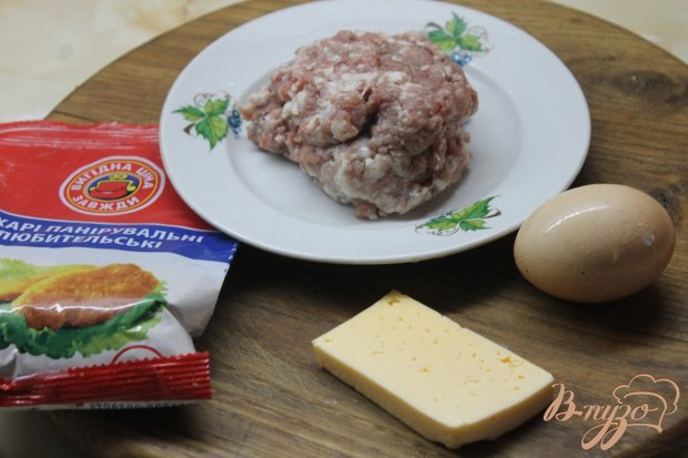 Рецепт Свиные котлеты с сыром в панировке