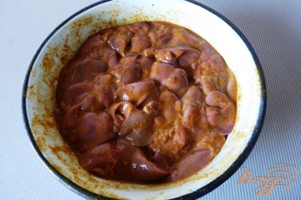 Рецепт Ароматная жаренная куриная печень