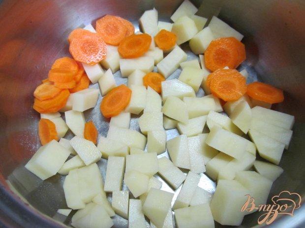 Рецепт Суп с грибами и пекинской капустой