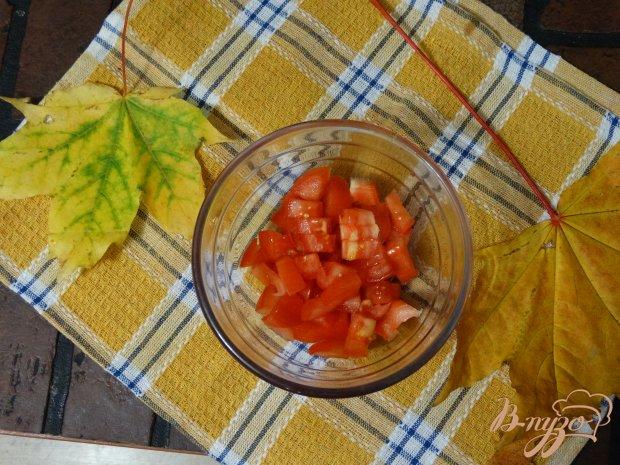Рецепт Салат с копченой колбасой и овощами