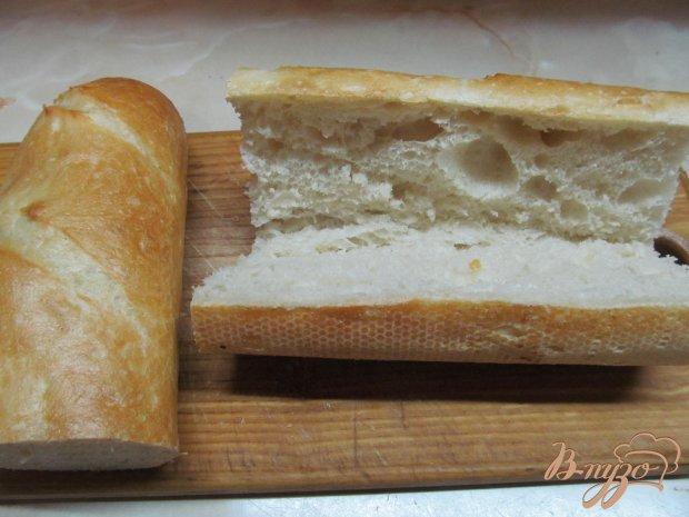 Рецепт Бутерброд в батоне