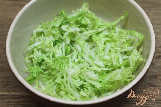 Рецепт Салат из пекинской капусты с яйцом и сыром