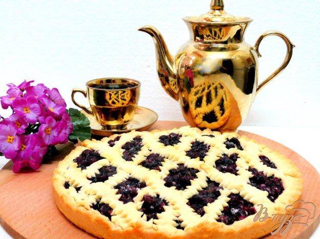 фото рецепта: Пирог со смородиной