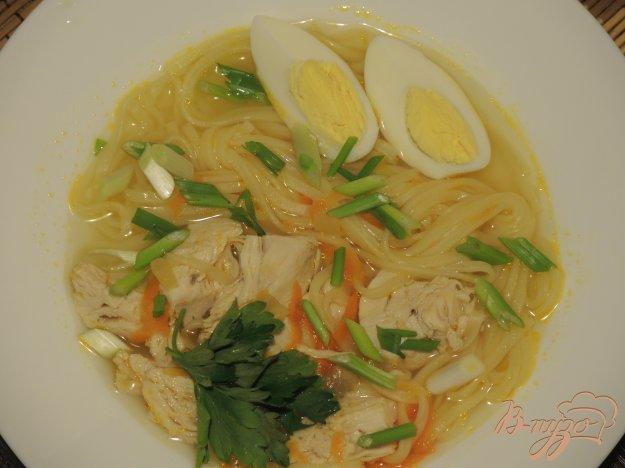фото рецепта: Суп Куриная лапша