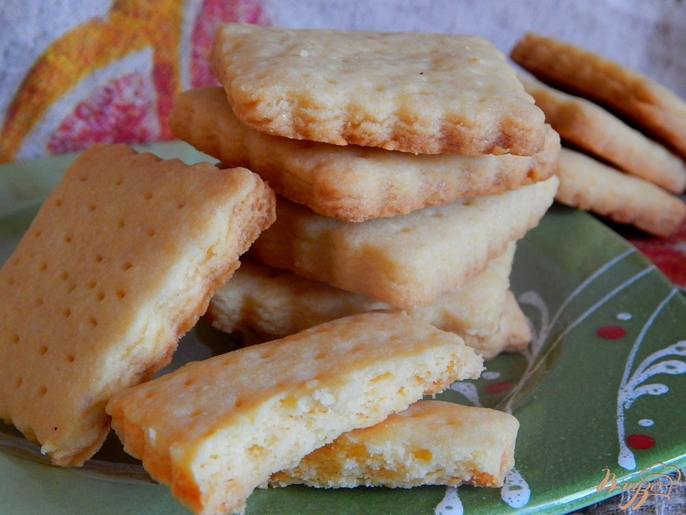 Рассыпчатое песочное печенье на маргарине рецепт с пошагово