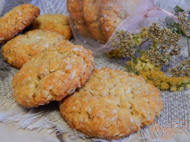 фото рецепта: Печенье анзак