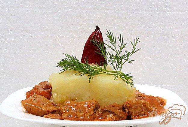 фото рецепта: Мясо по- польски