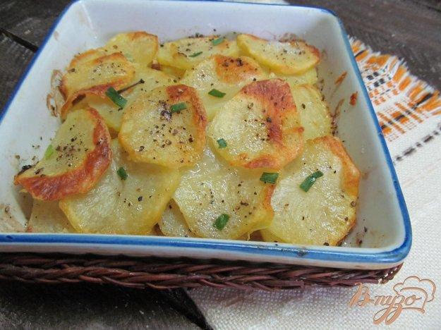 фото рецепта: Слоенный картофельный гарнир