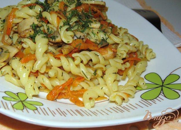 Второе блюдо с шампиньонами рецепт пошагово